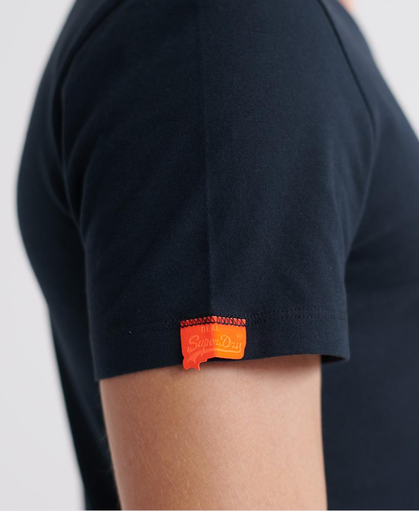 thumbnail 17 - Superdry Mens Orange Label Vintage Embroidery V-Neck T-Shirt