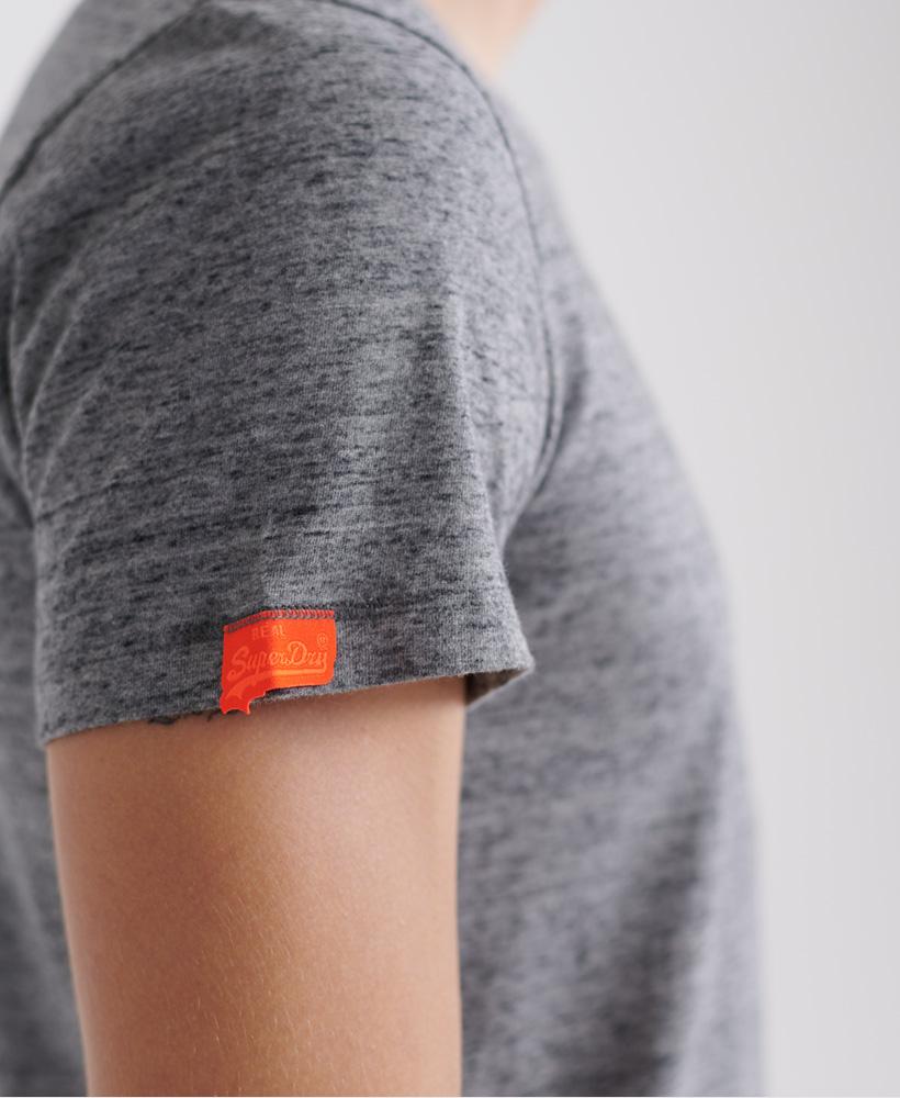 thumbnail 21 - Superdry Mens Orange Label Vintage Embroidery V-Neck T-Shirt