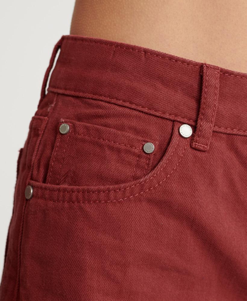 Indexbild 16 - Superdry Damen Mittellange Denim-Shorts