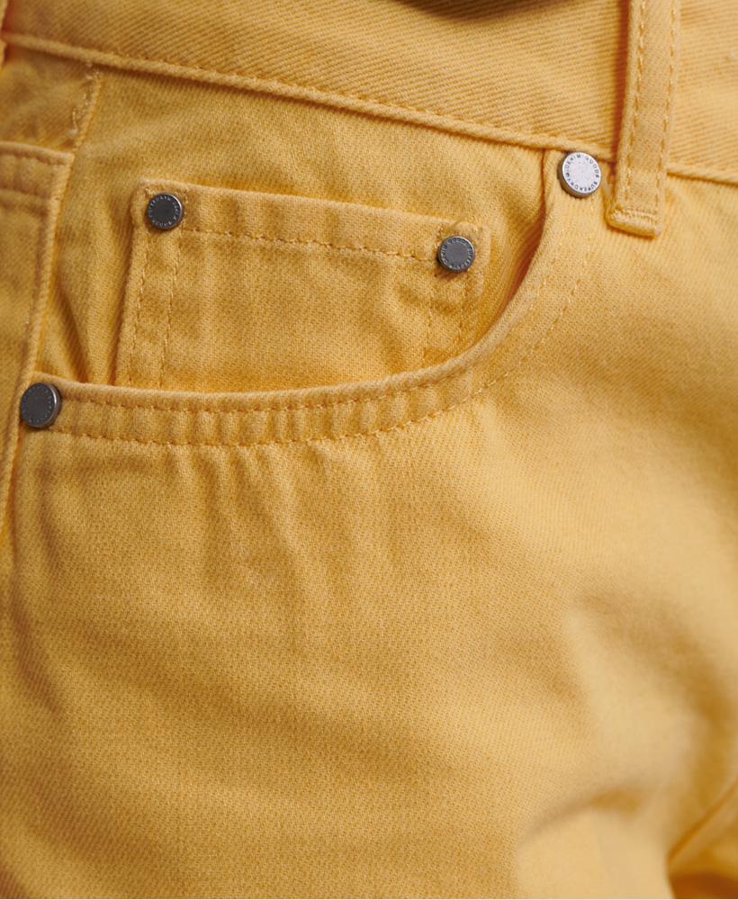 Indexbild 6 - Superdry Damen Mittellange Denim-Shorts