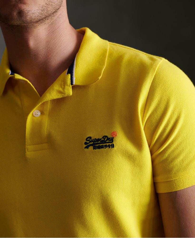 thumbnail 12 - Superdry Mens Organic Cotton Classic Pique Polo Shirt