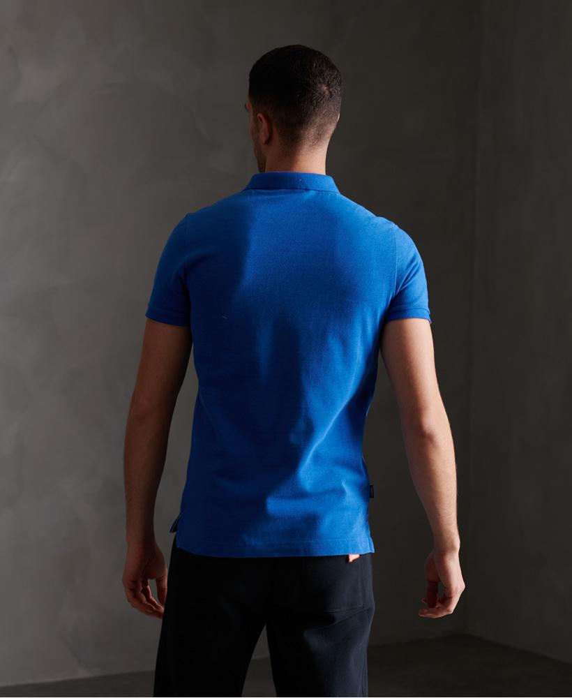 thumbnail 44 - Superdry Mens Organic Cotton Classic Pique Polo Shirt