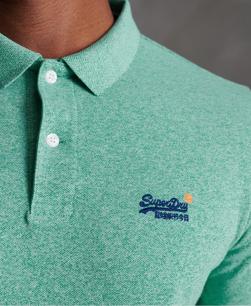 thumbnail 33 - Superdry Mens Organic Cotton Classic Pique Polo Shirt