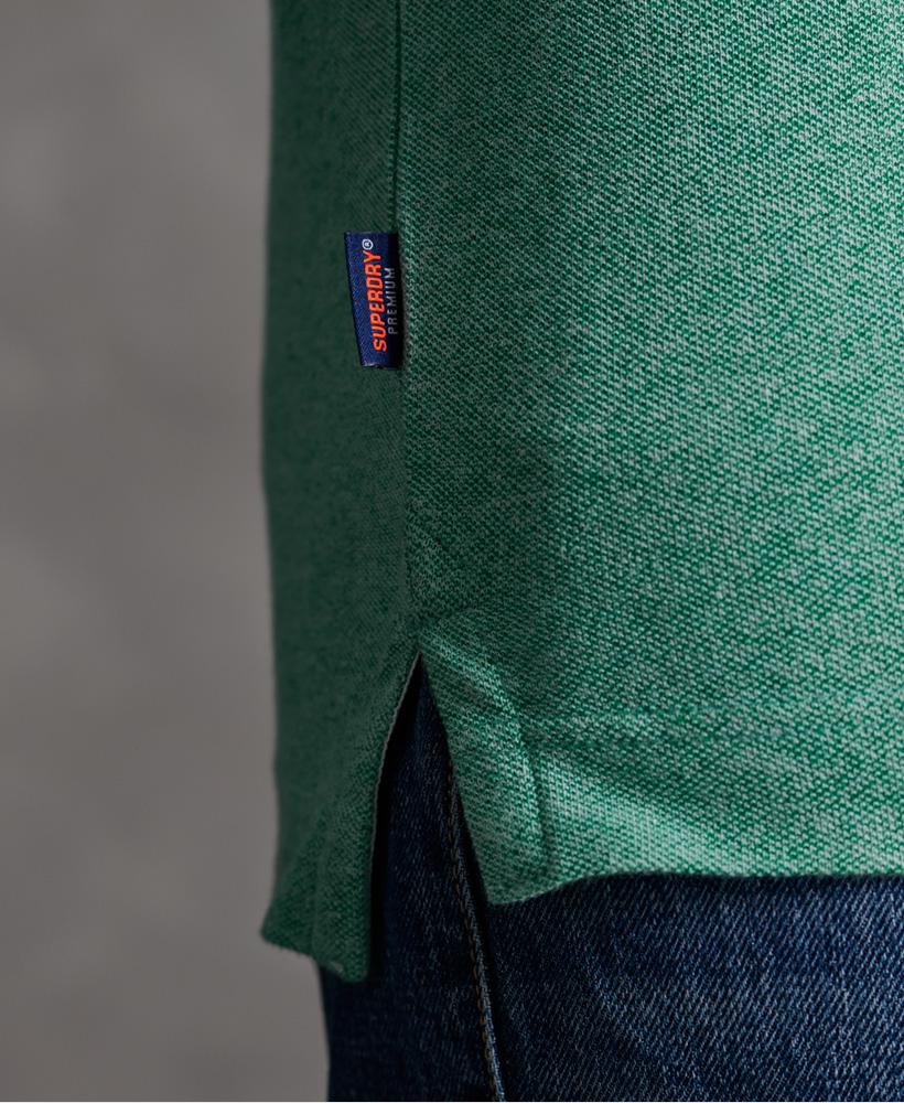 thumbnail 34 - Superdry Mens Organic Cotton Classic Pique Polo Shirt