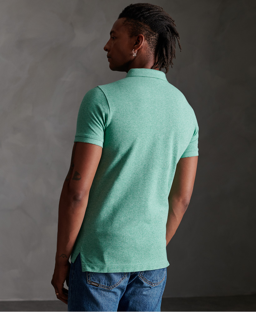 thumbnail 31 - Superdry Mens Organic Cotton Classic Pique Polo Shirt