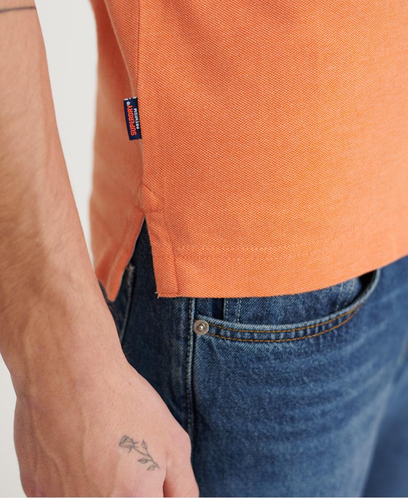 thumbnail 16 - Superdry Mens Organic Cotton Classic Pique Polo Shirt