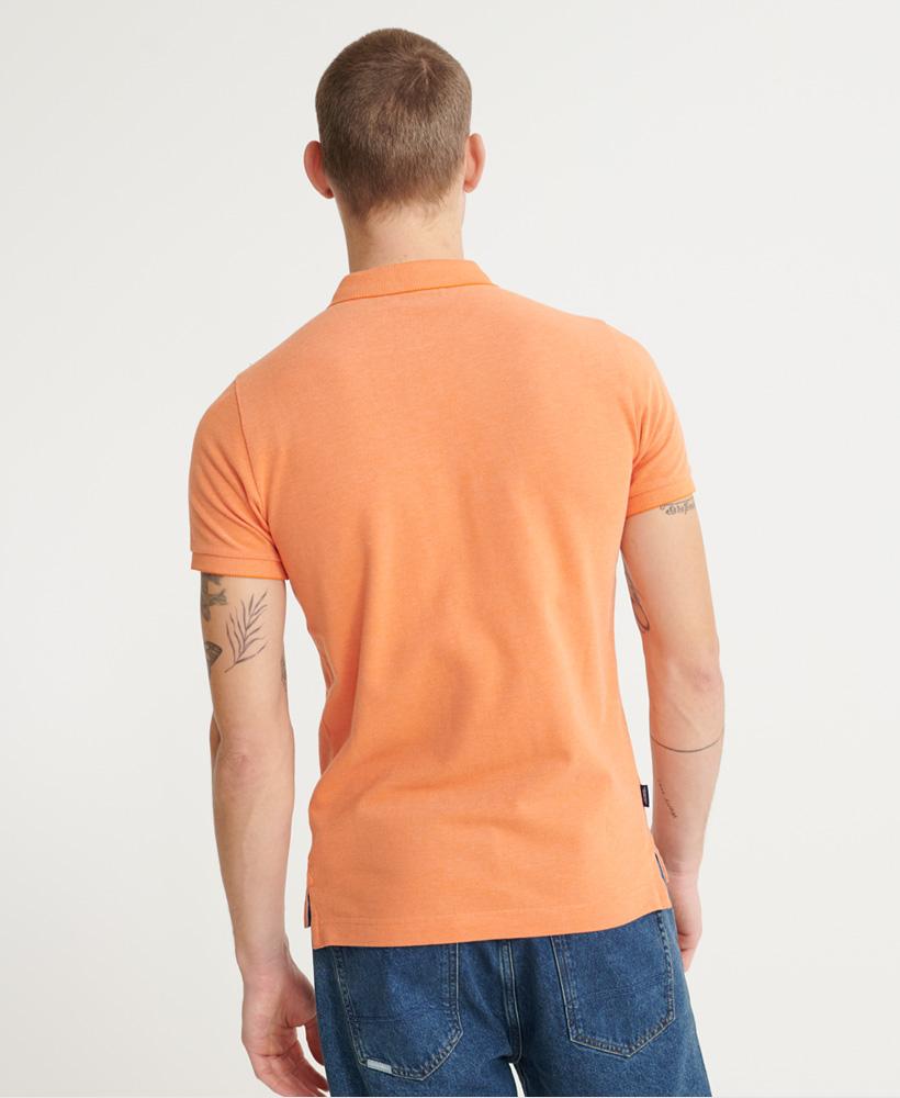 thumbnail 14 - Superdry Mens Organic Cotton Classic Pique Polo Shirt
