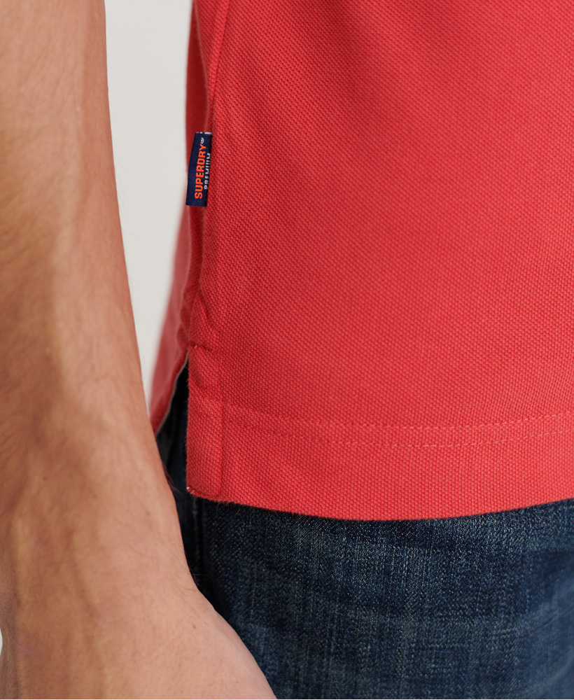 thumbnail 24 - Superdry Mens Organic Cotton Classic Pique Polo Shirt