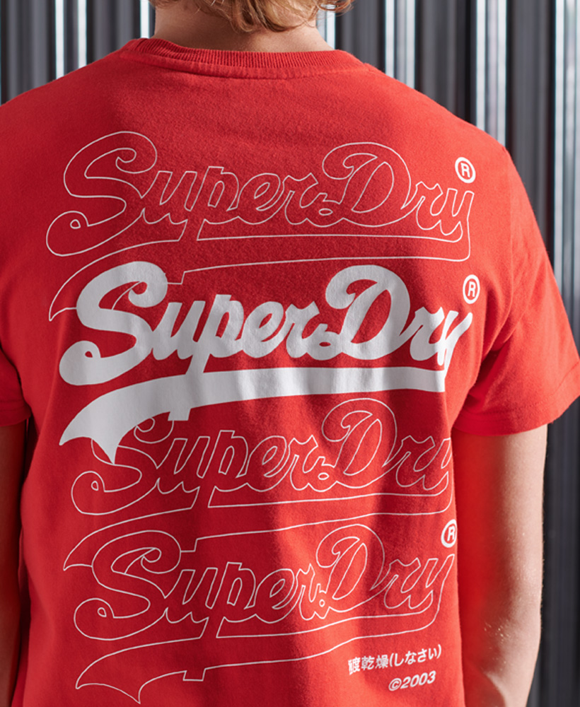 thumbnail 12 - Superdry Mens Vintage Logo Multi T-Shirt