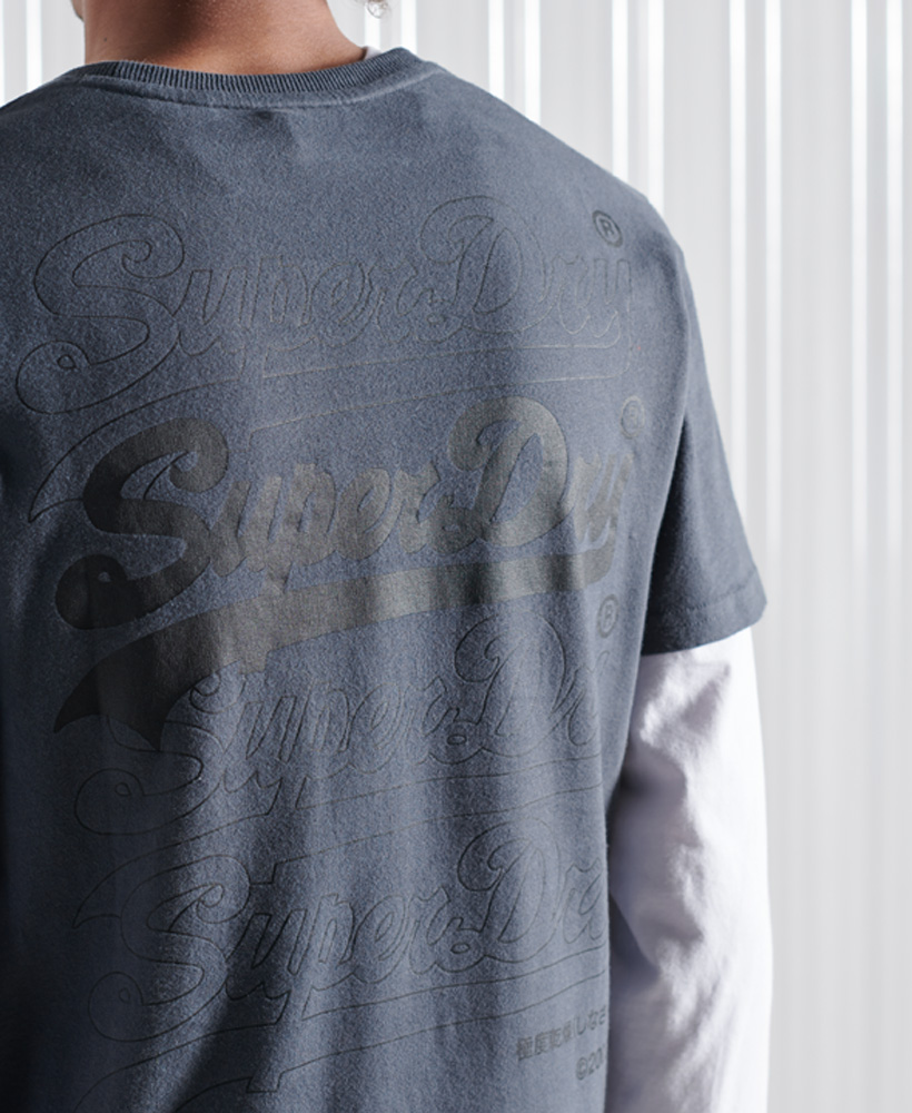 thumbnail 7 - Superdry Mens Vintage Logo Multi T-Shirt