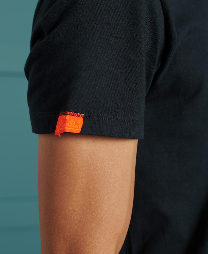 thumbnail 15 - Superdry Mens Orange Label Vintage Embroidery V-Neck T-Shirt