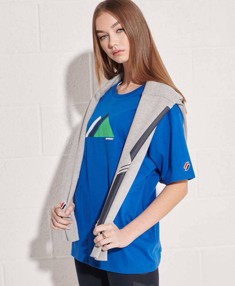 thumbnail 10 - Superdry Womens Mountain Sport T-Shirt