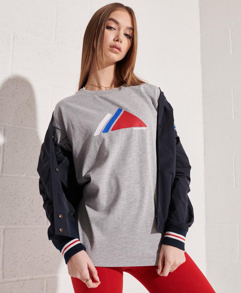 thumbnail 6 - Superdry Womens Mountain Sport T-Shirt