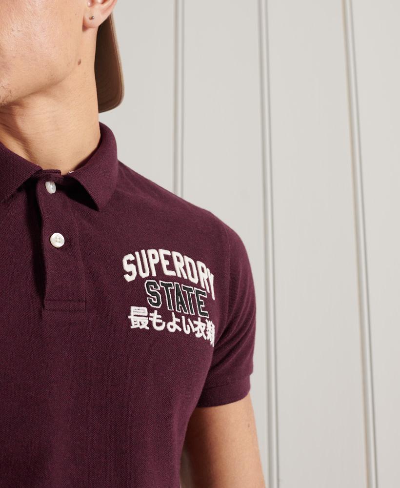 Indexbild 8 - Superdry Herren Classic Superstate Polohemd