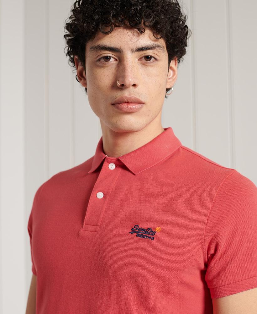 thumbnail 22 - Superdry Mens Organic Cotton Classic Pique Polo Shirt