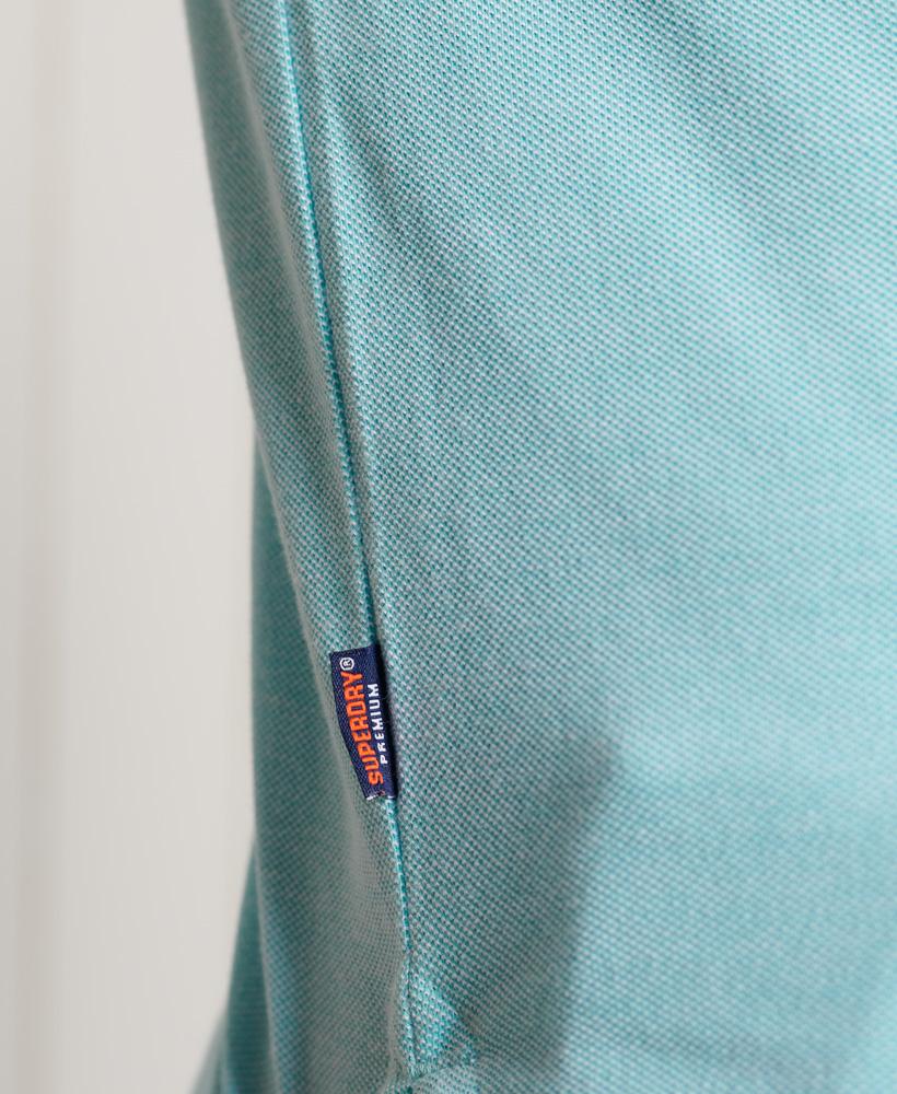 thumbnail 41 - Superdry Mens Organic Cotton Classic Pique Polo Shirt