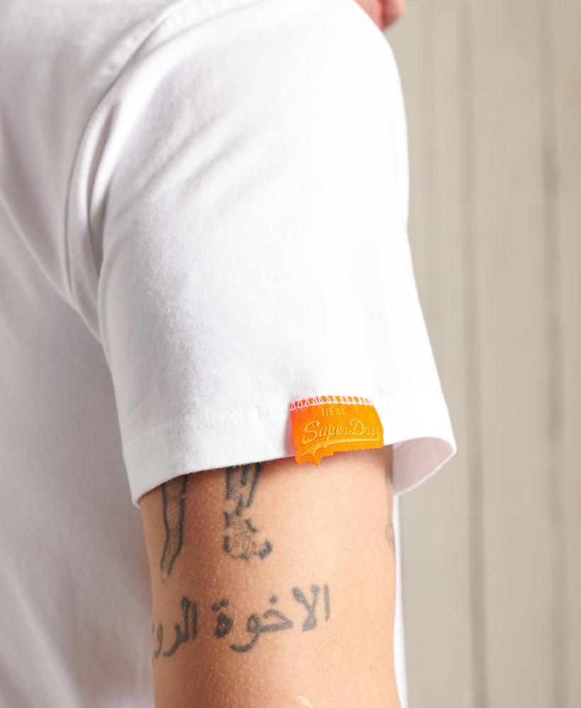 thumbnail 27 - Superdry Mens Orange Label Vintage Embroidery V-Neck T-Shirt