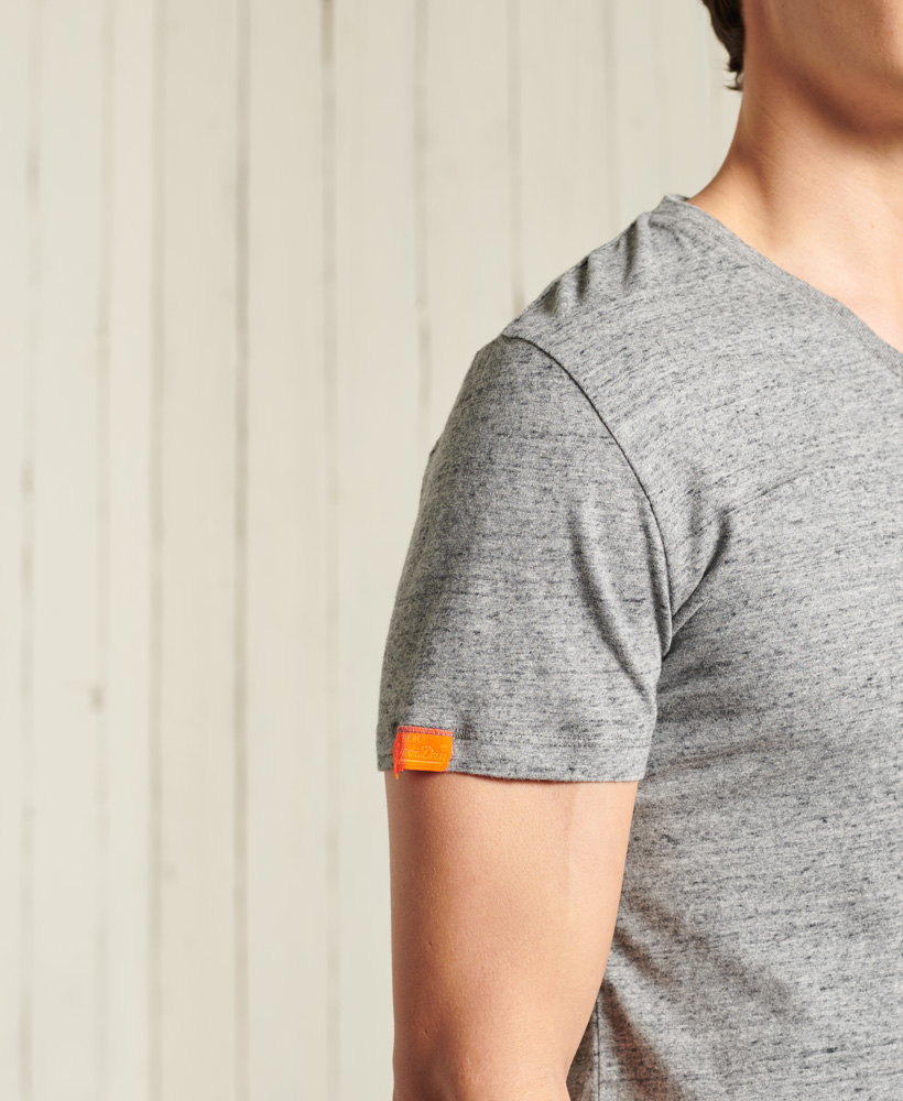 thumbnail 20 - Superdry Mens Orange Label Vintage Embroidery V-Neck T-Shirt