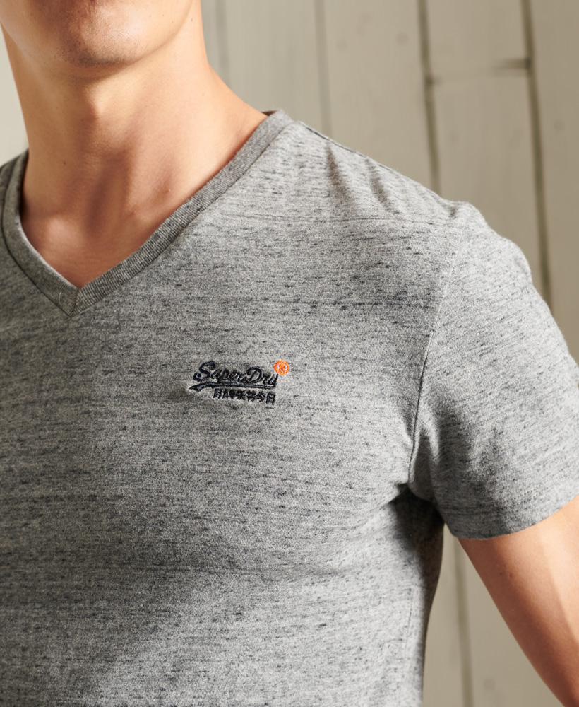 thumbnail 19 - Superdry Mens Orange Label Vintage Embroidery V-Neck T-Shirt